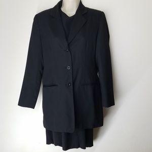Vintage Adolfo Studio Black Dress & Blazer